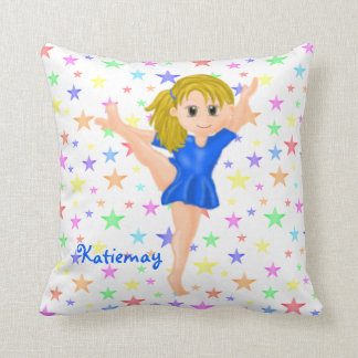 Gymnast Girl Mojo Pillow