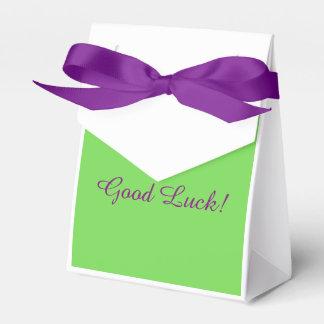 "Gymnast ""Good Luck"" Favor box"