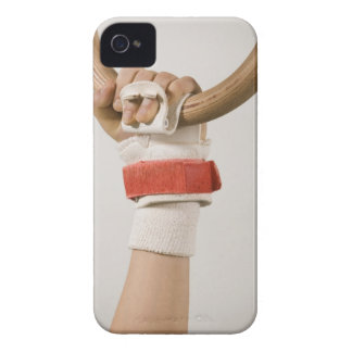Gymnast hand holding ring iPhone 4 case