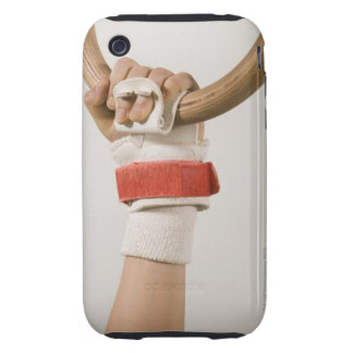 Gymnast hand holding ring tough iPhone 3 cover
