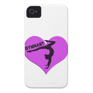 Gymnast Heart Handstand Gifts iPhone 4 Case-Mate Case