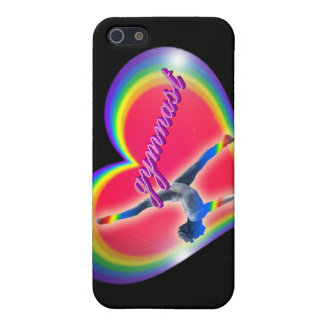 Gymnast Heart Rainbow iPhone 4 Speck Case