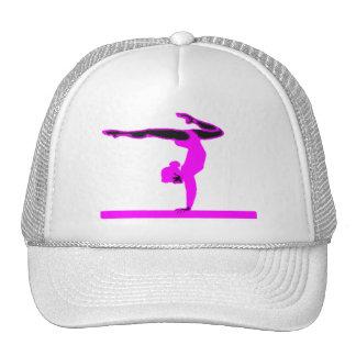 Gymnast (hot pink) mesh hat