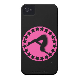Gymnast in pink iPhone 4 Case-Mate cases