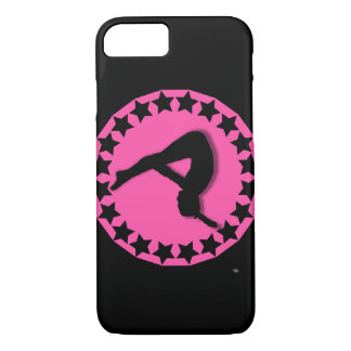 Gymnast in pink iPhone 8/7 case