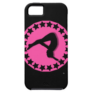 Gymnast in pink iPhone SE/5/5s case
