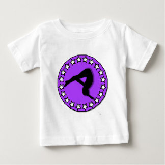 Gymnast in purple baby T-Shirt