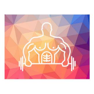 Gymnast Instructors Symbol Postcard