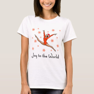 Gymnast Joy to the World T-Shirt