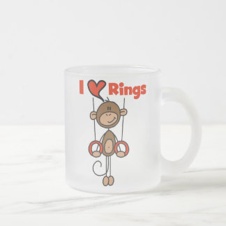 Gymnast Loves Rings Coffee Mug