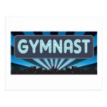 Gymnast Marquee Post Card