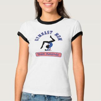 Gymnast Mom Custom T-Shirt