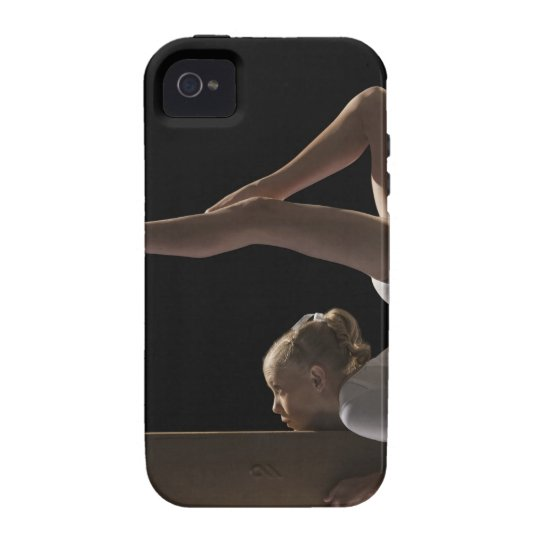 Gymnast on balance beam Case-Mate iPhone 4 case