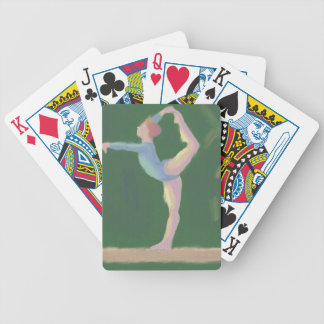 Gymnast on Balance Beam,Deck of Playing Cards