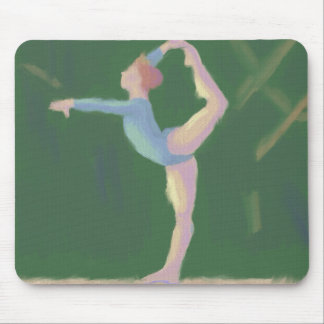 Gymnast on Balance Beam, Mousepad