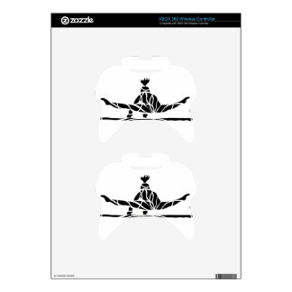 Gymnast on Bars Back View Xbox 360 Controller Skins