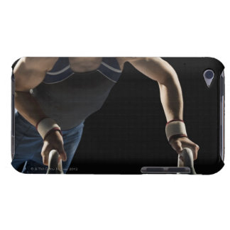 Gymnast on pommel horse iPod touch cover