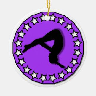 Gymnast ornament