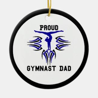 Gymnast Ornament Dad Personalize