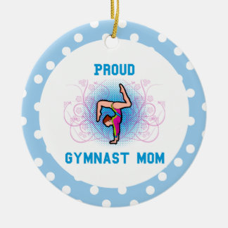 Gymnast Ornament Mom Personalize