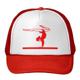 Gymnast (red) mesh hat