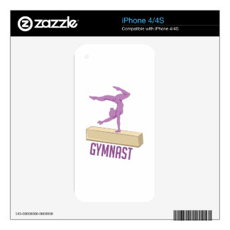 Gymnast iPhone 4S Decal