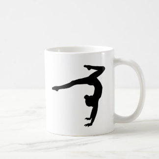 Gymnast Stag Handstand Gifts Classic White Coffee Mug