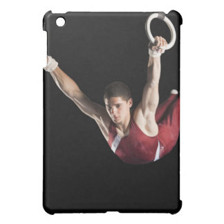 Gymnast swinging from rings cover for the iPad mini