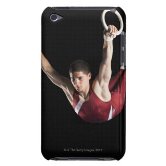 Gymnast swinging from rings iPod touch cover