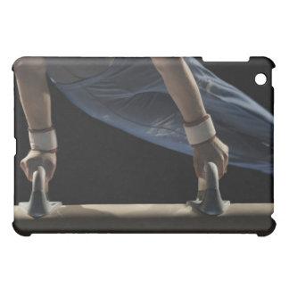 Gymnast swinging on pommel horse case for the iPad mini