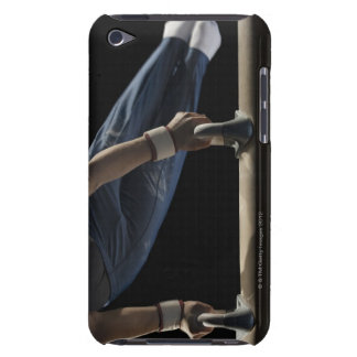 Gymnast swinging on pommel horse iPod touch cover