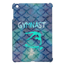 Gymnast Tribal Pattern Blue Case For The iPad Mini