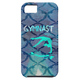 Gymnast Tribal Pattern Blue iPhone SE/5/5s Case