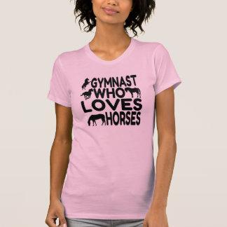 Gymnast Who Loves Horses Shirts