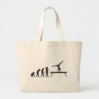 Gymnastic Balance Beam Jumbo Tote Bag