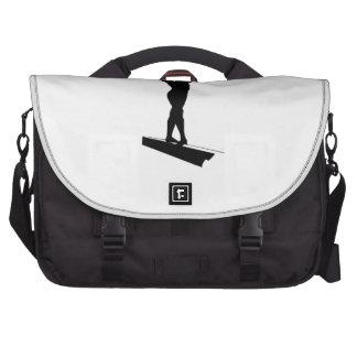 Gymnastic Balance Beam Laptop Commuter Bag