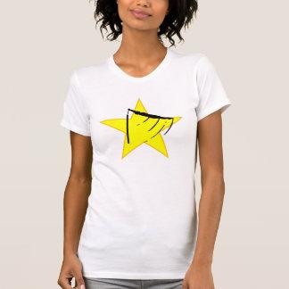 Gymnastic Bars Silhouette Star Tee Shirt