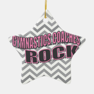 Gymnastic Coach Gift Ceramic Ornament