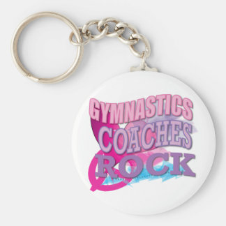Gymnastic Coaches Gifts from Gymnasts Keychain