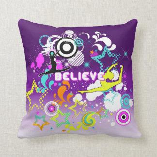 Gymnastic, Dance, girls graphic design pillow
