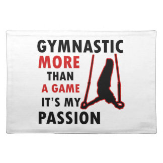 gymnastic Design Placemat