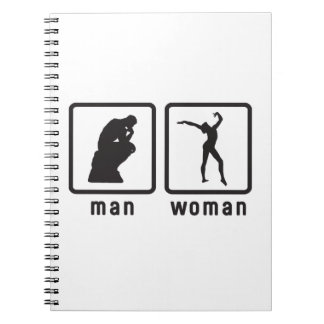 Gymnastic Floor Exercise Note Book