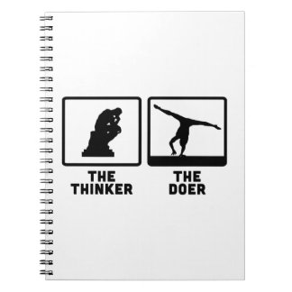 Gymnastic Floor Exercise Notebook