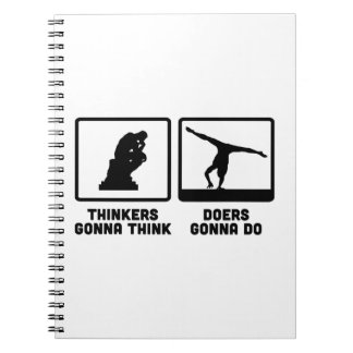 Gymnastic Floor Exercise Note Books