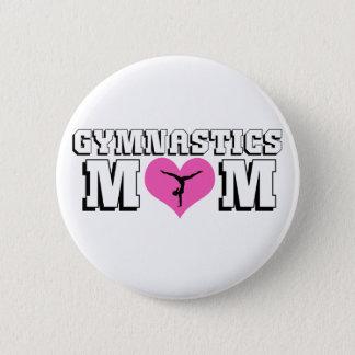 Gymnastic Mom Button