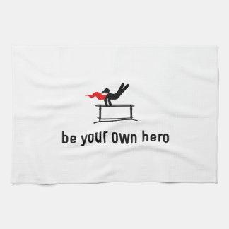 Gymnastic Parallel Bars Hero Kitchen Towel