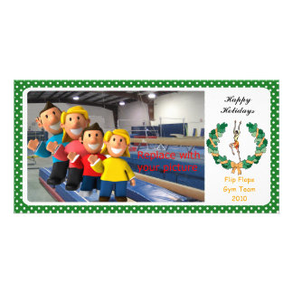 Gymnastic Photo Card Rhythmic