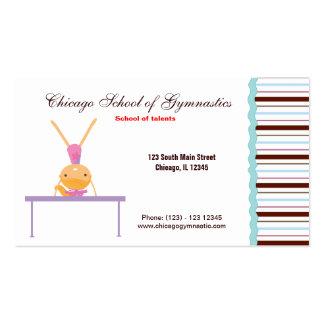 Gymnastic School Business Cards