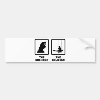 Gymnastic Still Rings Bumper Sticker