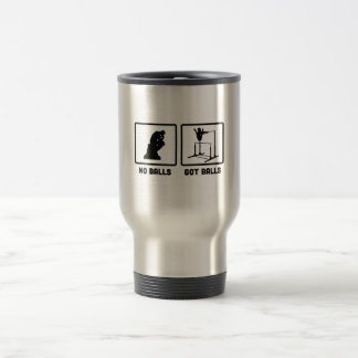Gymnastic Uneven Bars 15 Oz Stainless Steel Travel Mug